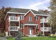 six plex multi family home plan 90146pd architectural