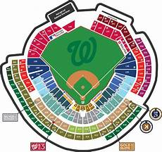 Washington Capitals Seating Chart With Rows Where To Find Shaded Seats At Nationals Park Trip Hacks Dc