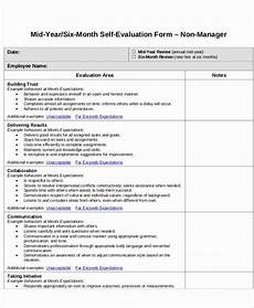 Employee Expectation List Self Performance Review Template New 7 Employee Self