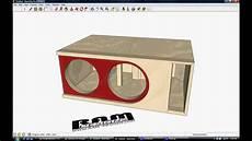 Ram Designs Ram Designs Dc Audio Level 6 Box Design Triple Baffle
