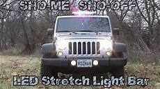 2017 Jeep Wrangler Unlimited Light Bar 2017 Jeep Wrangler Unlimited Sho Me Sho Off Led Low
