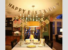 birthday party for the husband?   Dinner party ideas for