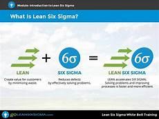 Six Sigma Courses Lean Six Sigma White Belt Training Goleansixsigma Com