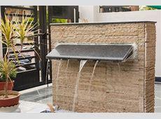 Exterior fountain cladding   Wall cladding, Exterior wall cladding, Cladding