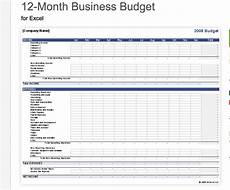 Small Business Templates Excel 7 Free Small Business Budget Templates Fundbox Blog