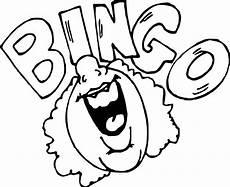Bingo Coloring Pages Bingo Drawing At Getdrawings Free Download
