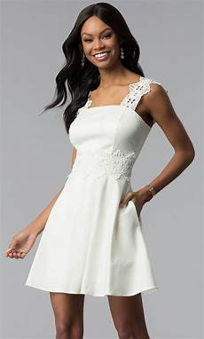 graduation clothes for ivory white graduation dress with pockets
