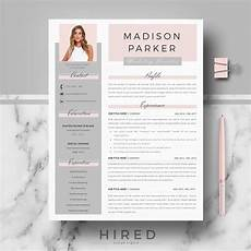 Creative Cv Resume Creative Amp Modern Resume Cv Template For Word And Pages