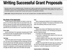 How To Write Grant Proposal Tips For Writing Successful Grant Proposals 3 Pages