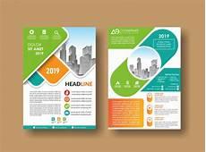 Background Leaflet Design City Background Business Book Leaflet Cover Design