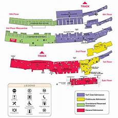 Santa Race Track Seating Chart Breeders Cup Event Guide Bloodhorse Com