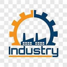Industrial Logo Design Industrial Logo Isolated On Transparent Background