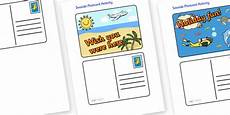 post card template twinkl twinkl resources create a postcard activity thousands of