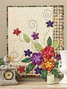 patchwork wandbehang embroidery wall quilt http lomets