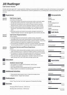 Resume Example For Call Center Call Center Resume Louiesportsmouth Com