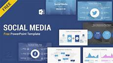 Social Media Ppt Templates Social Media Free Powerpoint Template Ppt Slides Slidesalad