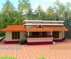 single storey budget house design and plan at 1000 sq ft