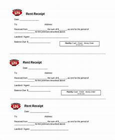 Rent Receipt Form Free 24 Sample Receipt Forms In Pdf Excel Word