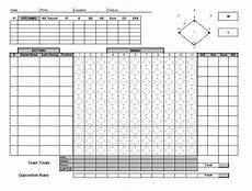 Baseball Scorecard 30 Printable Baseball Scoresheet Scorecard Templates