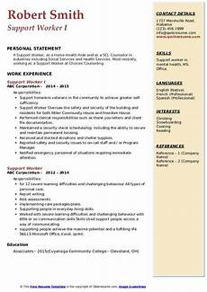 Care Worker Personal Statement Support Worker Resume Samples Qwikresume