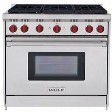 Wolf Gr366x 36 Inch Pro Style Gas Range With 6 Dual