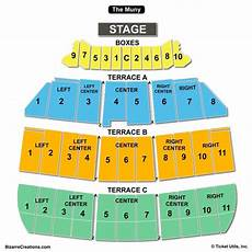 The Harv Seating Chart The Muny Seating Chart Seating Charts Amp Tickets