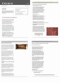 Free Church Newsletter Templates Microsoft Word Free Church Newsletter Templates Editable In Microsoft 174 Word