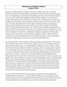 Graduate Application Essay Sample Personal Statement For Graduate School For Social Work