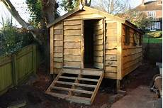 Shed Roof Rustic Shed With Pitched Roof The Wooden Workshop