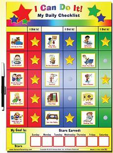 To Do Chart For Toddlers Quot I Can Do It Quot My Daily Checklist By Kenson Kids Kenson