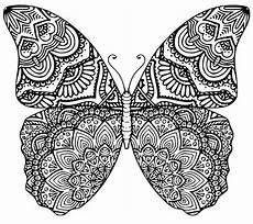 Ausmalbilder Schmetterling Mandala Schmetterling Mandala Schneiden Datei Svg Eps Dxf Etsy