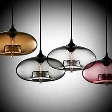 Pendant Light Fixtures Modern New Simple Modern Contemporary Hanging 6 Color Glass Ball
