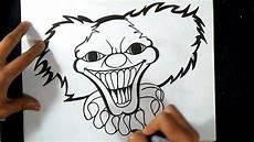 comment dessiner clown graffiti