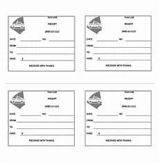 blank cab receipt template blank cab receipts 7 letter