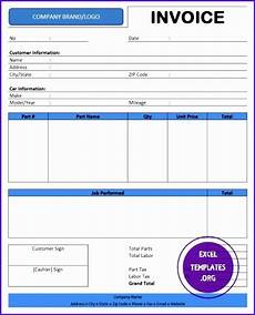 sales receipt template word 2003 9 excel invoice template 2003 exceltemplates