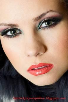 makeup christmas makeup look lipstick on your pillow