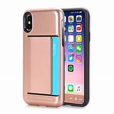 Designer Iphone X Phone Cases For Apple Iphone X Case Dual Layer Wallet Design W Card