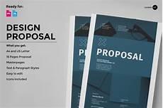 Proposal Document Design Design Proposal Brochure Templates On Creative Market
