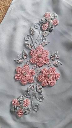 pin on floral beadwork