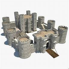 Castle Keep Design Maya Medieval Castle