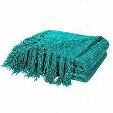 dozzz decorative chenille throw blanket for throws