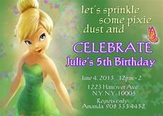 Tinkerbell Invitation Tinkerbell Invitations Fairy Invitations Pixie Fairy Etsy
