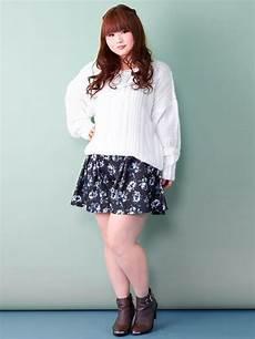 plus size asian fashion and casual fashion photo