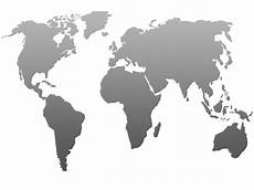 Black And Grey World Map World Map Png Images Free Download