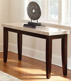 monarch cordovan cherry sofa table from steve silver