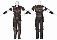 Fallout New Vegas Light Armour Marked Patrol Armor The Vault Fallout Wiki Fallout 4