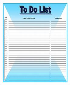 Microsoft Templates To Do List Free 16 Sample To Do List Templates In Ms Word Excel Pdf
