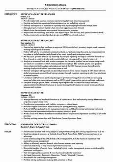 Sample Buyer Resume Resume Of Buyer Retail Buyer Resume