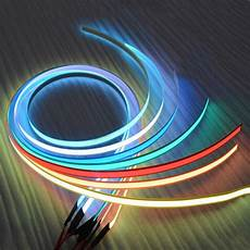 Light Tape 12v 1m Flexible Glow El Tape Led Light El Wire Rope Cable