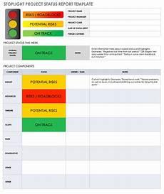 Status Report Formats Free Project Report Templates Smartsheet
